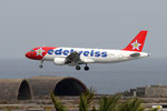 HB-IHZ - Airbus A320-214 - Edelweiss Air @ LPA