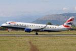 G-LCYW - Embraer ERJ-190SR - British Airways @ FLR