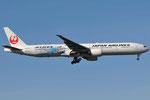 JA733J - Boeing 777-346(ER) - Japan Airlines - JETKEI livery