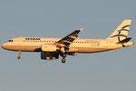 SX-DVT - Airbus A320-232 - Aegean Airlines @ MXP
