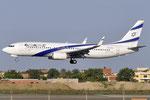 4X-EKS - Boeing 737-8HX - El Al