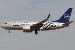 YR-BGF - Boeing 737-78J - Tarom - SkyTeam livery