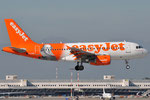 G-EZBI - Airbus A319-111 - EasyJet - William Shakespeare livery