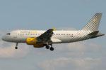 EC-MGF - Airbus A319-112 - Vueling @ FLR