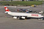HB-JMA - Airbus A340-313 - Swiss