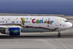 D-ABUE - Boeing 767-330(ER) - Condor - Heart of children livery