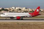 Airbus A320 Air Malta 9H-AEF OLT Livery