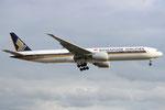 9V-SWW - Boeing 777-312(ER) - Singapore Airlines