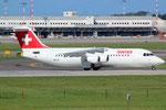 Avro RJ100 Swiss HB-IXX