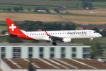 HB-JVR - Embraer ERJ-190LR - Helvetic Airways