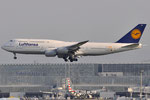 D-ABYP - Boeing 747-830 - Lufthansa - 1500th 747 sticker