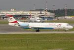 Fokker 100 Austrian Airlines OE-LVM