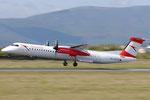 OE-LGN - Bombardier Dash 8 Q400 - Austrian Airlines @ FLR