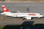 Bombardier CS100 Swiss HB-JBA