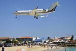N436QS - Gulfstream IV - NetJets @ SXM