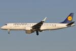 D-AECI - Embraer ERJ-190LR - Lufthansa @ PSA