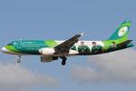 EI-DEI - Airbus A320-214 - Aer Lingus - Irish Rugby Team livery @ PSA