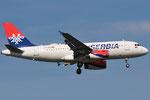 YU-APD - Airbus A319-132 - AirSERBIA