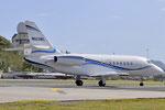N523WC - Dassault Falcon 2000 - private @ SXM