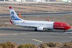 EI-FVL - Boeing 737-8JP - Norwegian @ LPA