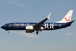 D-ATUD - Boeing 737-8K5 - TUI fly Deutschland - TUI Blue livery @ PSA