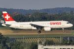 HB-IJH - Airbus A320-214 - Swiss