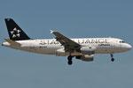 D-AILF - Airbus A319-114 - Lufthansa - Star Alliance livery @ BLQ