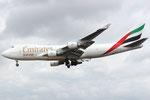 OO-THC - Boeing 747-4HAF(ER) - Emirates SkyCargo