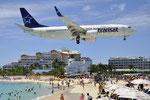 C-GYQW - Boeing 737-8FN - Air Transat @ SXM