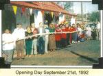 Opening Day, September 21, 1992