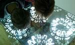 Was soll denn das? Optische Täuschungen mit Spiegelung ins Unendliche. Bitte, es war bei Essl, ist also Kunst.