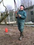 Baie de Somme: Leçon de taille de papy Guy!