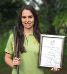 Kayla Grassi, winner of 2010 Rural City of Wangaratta Youth Sports Award