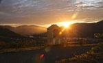 Sonnenaufgang in Weißenkirchen