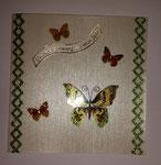 Schmetterlingkarte