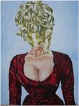 Faceless / Oil on Canvas 40 cm x 50 cm