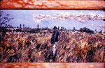 Walking Through The Fields, Oil