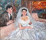 The Wedding Portrait, Lawrence & Marlene - 1955