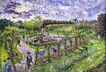 The Rose Garden at Brooklyn Botanic Gardens - 1959