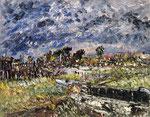 Upcoming Storm - Gerritsen Beach, Brooklyn, New York, USA - 1947