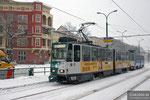 19. Dezember 2010, Haltestelle Feuerbachstraße