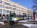 17. Februar 2009, Platz der Einheit/Nord