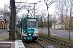 28. Februar 2007, Haltestelle Waldstraße