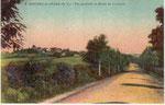 Vue Sud du village, depuis la route de Lembeye