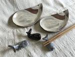 クジラ豆皿