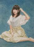 4《おぼろ月夜 〜kei〜》  F4/¥12,000(税込)