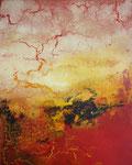 "Fabien Bruttin, ""Zao II"", 2013, 40x50 cm (15.7x19.7 in), technique mixte sur MDF"