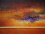 """Fabien Bruttin, """"Halo"""", 2013, 80x100 cm (31.5x39.4 in), technique mixte sur MDF"""