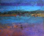 Fabien Bruttin, Untitled (bay), 2013, 40x50 cm (15.7x19.7 in), technique mixte sur MDF