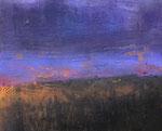 Fabien Bruttin, A field, 2015, 40x50 cm (15.7x19.7 in), technique mixte sur MDF